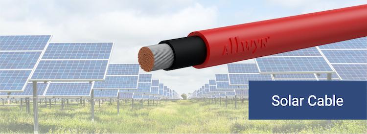 Allwyn Solar Cables xlpo uv pvc