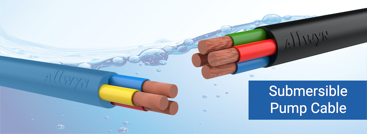Round Submersible Pump Cable PVC